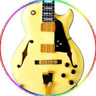George Benson Miniature Guitar Replica Collectible Ibanez Jazz GB 10 Cream