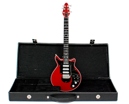 Brian May Queen Guitar Miniature with Case HD