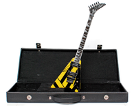 Michael Sweet STRYPER Guitar V Signature Miniature with Case