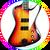 Simon Gallup The Cure FB Bass Miniature Guitar