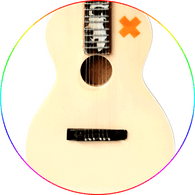 Ed Sheeran X  Acoustic Miniature Guitar Signature