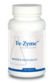 "Biotics  ---  ""Fe-Zyme""  ---  Highly BioAvailable IRON - 100 Tabs"