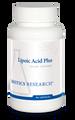 "BIOTICS  ---  ""LIPOIC ACID PLUS""  ---  Alpha Lipoic Acid + Vitamin C - 90 Caps"