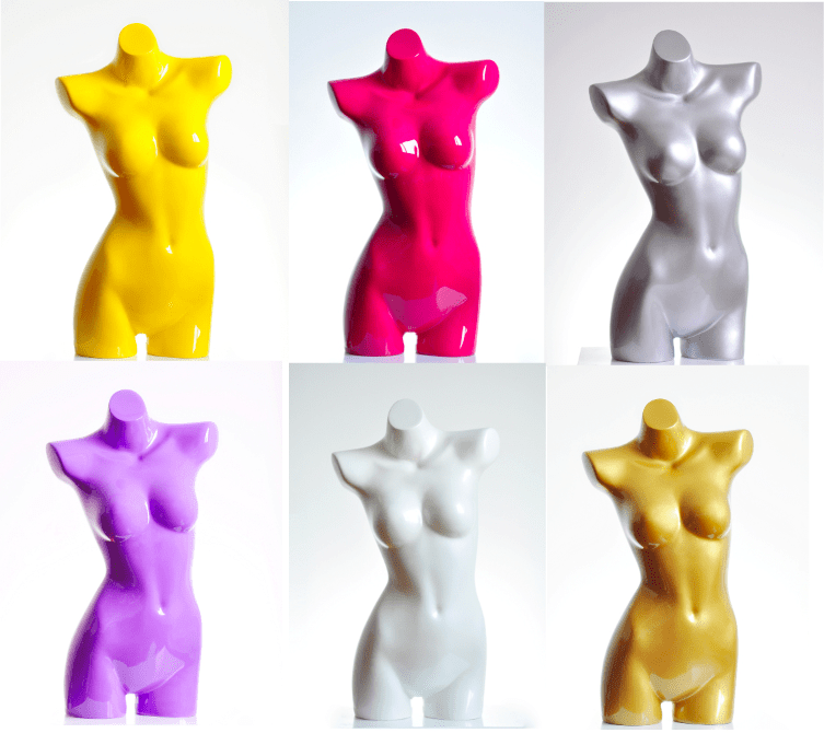 Fiberglass Female Torso Forms