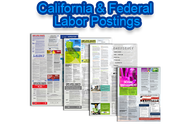 California & Federal Labor Posters