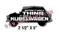 BEFORE IT WAS  A THING IT WAS A KUBELWAGEN