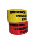 "Tape, Box Sealing Evidence Tape, Red or Yellow, 2"" x 165'"