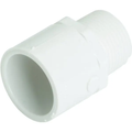 """PVC Male Adapter Coupling Schedule 40 - 1/2"""" x 1/2"""""""
