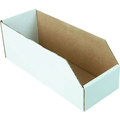 "2 x 12"" White Cardboard Bin Box 25 Per Package"