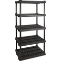"74 x 36 x 24"" 5-Shelf Industrial Storage Rack"