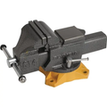 "4"" Heavy-Duty Bench Vise With Swivel Base"