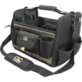 """CLC 14"""" Open-Top Soft-Sided Tool Box, 21 Pockets And 6 Sleeves"""