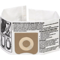 RIDGID® High-Efficiency Dust Bag Filters For 4-5 Gallon Vacuums - Package Of 2
