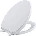 Reveal® Quiet-Close™ with Grip-Tight Bumpers Elongated Toilet Seat