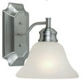 One-Light Wall Sconce - Satin Nickel