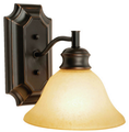 One-Light Wall Sconce - Oil-Rubbed Bronze.