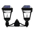 LED Two-Light Solar Post-Top Lantern