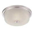 LED Ceiling Fixture - 21 Watt - Satin Platinum -
