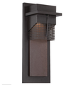 LED Outdoor Wall Lantern - 10 Watt - Burnished Bronze -