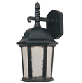 LED Outdoor Wall Lantern - 8 Watt - Driftwood Finish