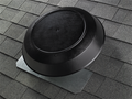 1600 CFM Attic Ventilator with black PVC dome