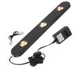 "LED Undercabinet Fixture, 10.5 Watt, Black, 20"""