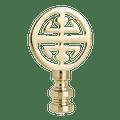 1 PC 2-1/4IN LAMP FINIAL PB