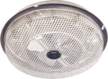 Low-Profile Ceiling Heater  Same as Model 154 except with exclusive totally enclosed, sheathed element. 1250W, 120VAC.