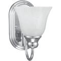 Sea Gull Lighting Windgate 100 Watts One Light Bath Sconce Chrome