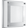 Progress LED Anson One-Light Stainless Steel Sconces With White Glass