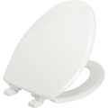 Bemis® Whisper Close Elongated Plastic Toilet Seat Package Of 6