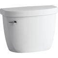 Details  Kohler® Cimarron® 1.28 GPF Toilet Tank, Round Front