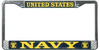 License Plate Frame, United States Navy