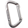 "Non-Locking ""D"" Carabiner, Silver"