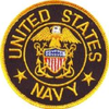 Iron On Patch, United States Navy