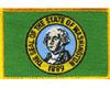 Iron On Patch, Washington State Seal