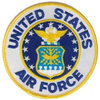 Iron On Patch, United States Air Force
