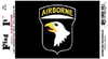 Flag It Sticker,101st Airborne