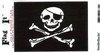 Flag It Sticker, Jolly Roger