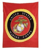 Blanket Fleece, USMC
