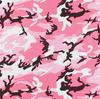 "22"" Pink Camo Bandana"