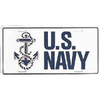 License Plate, US Navy