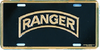 License Plate, Ranger