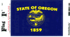Flag It Sticker, Oregon State Flag