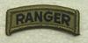 Multicam Patch, Ranger Tab