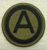 Multicam Patch, 3rd Army