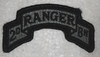 ACU Patch, 2nd Ranger Tab