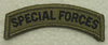 Multicam Patch, Special Forces Tab