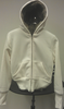 Jacket, Ivory Hooded