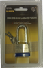 Padlock, 30MM Long Shank Laminated